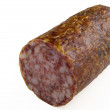 Cold smoked salami — Stock Photo