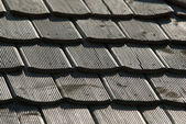 Wooden roof texture — Stock Photo