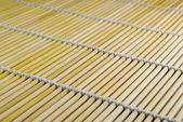 Diagonall bamboo mat texture — Stock Photo