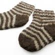Woolen socks — Stock Photo