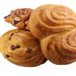 Heap of sweet pastry — Stock Photo