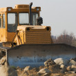 Bulldozer on construction site — Stock Photo #2107472