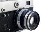 Old rangefinder camera — Stock Photo