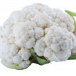 Cauliflower on white - Stok fotoğraf
