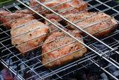 Barbecue di carne — Foto Stock
