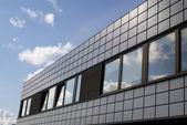 Kantoor gebouw perspectief — Stockfoto