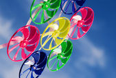 Colorful spinner toy — Stock Photo