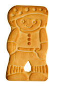 Boy shaped cookie — Stock Photo