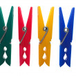 Royalty-Free Stock Photo: Colorful clothes pegs