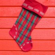 Christmas sock — Stock Photo