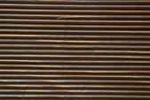 Weathered machined plank — Stock Photo