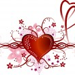 Vector de stock : Valentine's heart