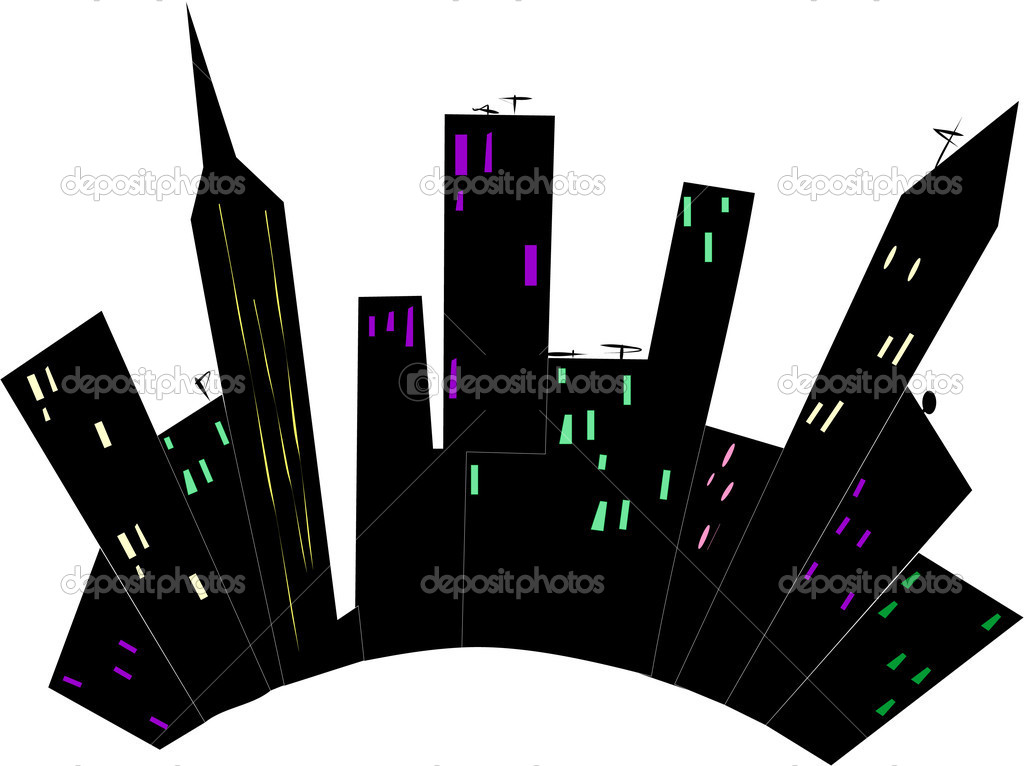City abstraction — Stock Vector #2097895