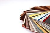 Paleta de cores — Fotografia Stock