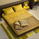 Elegant and luxury bedroom interior. — Stock Photo #2065237