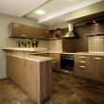 Elegant and luxury kitchen interior. — Stock Photo #2065253
