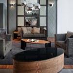 elegante y lujoso salón interior — Foto de Stock