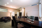 Elegant and luxury office interior. — Stock Photo