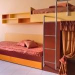 Elegant child room interior design. — Stock Photo