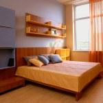 Elegant and luxury bedroom interior. — Stock Photo #2115198