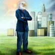 Stock Photo: Eagle businessman