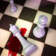 Stock Photo: Checkmate