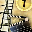 Movie industry - Foto Stock