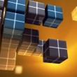 Royalty-Free Stock Photo: Data cubes
