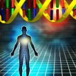 Genetic code - Stock Photo