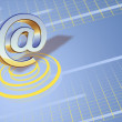 Email symbol — Stock Photo