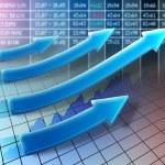 Stock trend — Stock Photo