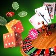 Gambling games - Foto Stock