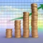 Earnings graph — Stock Photo #2507795