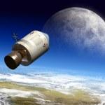 Moon travel — Stock Photo