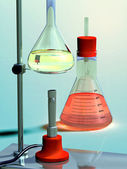 Lab flask — Stock Photo