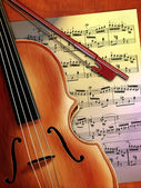 Violin music — Foto de Stock