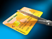 Cutting expenses — Stock Photo