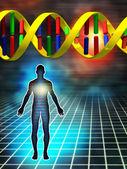 Genetic code — Stock Photo