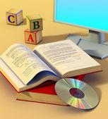 Multimedia learning — Stock Photo