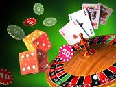 Gambling games — Stock Photo