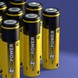 Battery group - Stock Photo