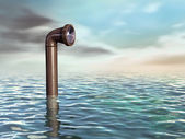 Submarine periscope — Stock Photo