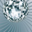 Stock Vector: Disko ball.