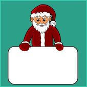Santa Claus cartoon — Stock Vector