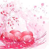 红色的复活节彩蛋 — 图库矢量图片