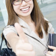Happy asian business women — Stock Photo
