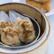 Stock Photo: Scallop dim sum