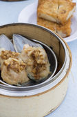 Scallop dim sum — Stock Photo