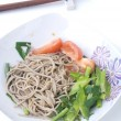 Japanese soba noodle — Stock Photo