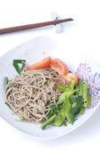 Japanese soba noodle — Stock Photo